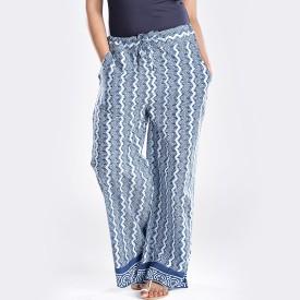 Imara Regular Fit Women's Dark Blue Trousers