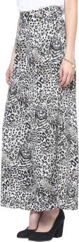Trend18 Tiger Print Palazzo Regular Fit Women's Trousers