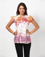 Love From India Polka Print Women's Tunic