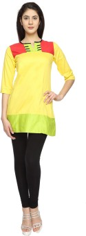 Texco Garments Solid, Woven Women's Tunic