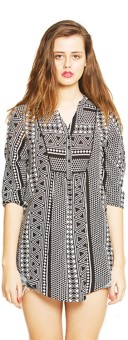 Zink London Printed Women's Tunic