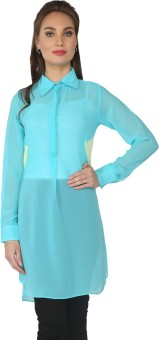 From The Ramp Solid Women's Tunic - TUNE87EVZN4RGGTU