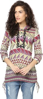 Love From India Geometric Print Women's Tunic