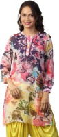 Love From India Floral Print Women's Tunic - TUNE2C9QYGKTHNEH