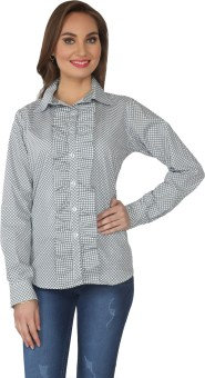 From The Ramp Checkered Women's Tunic