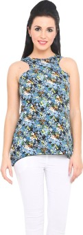 Sweet Lemon Floral Print Women's Tunic