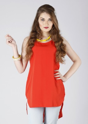 Red Color Women's Tunic on Women Day Special at Rs 590 from Flipkart