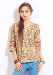 Style Quotient by Noi Printed Womens Tunic