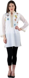 Live with style Embroidered Women's Tunic