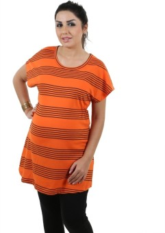Kriti Western Maternity Striped Women's Tunic