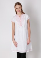 Laven Embroidered, Solid Women's Tunic