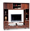 Royal Oak Engineered Wood Entertainment Unit (Finish Color - Honey Brown)