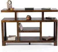 Smart Choice Furniture Solid Wood Entertainment Unit (Finish Color - Walnut) - TVUEBTQRFUDSQH8S