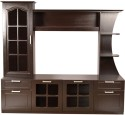 Hometown Mandrin Wallunit Plywood Entertainment Unit (Finish Color - Wenge)