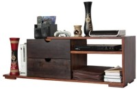 HomeEdge Solid Wood Entertainment Unit (Finish Color - Honey) - TVUEH3GAGQV3EYF5