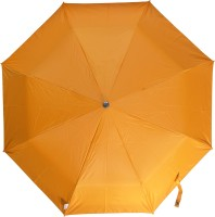Fendo 3 Fold Nylon Fabric H/O Ladies Orrange Umbrella Umbrella (Orange)