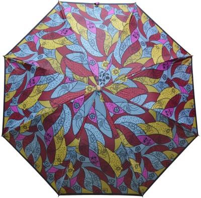Fendo 2 Fold Auto Open Multi color 400123_C Umbrella