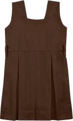 AJ Dezines AJ Dezines Brown Uniform Pinafore