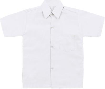 AJ Dezines AJ Dezines White Uniform Shirt