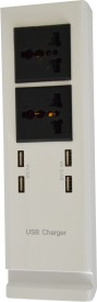Smartpro 2 Socket, 4 USB Port USB Adapter