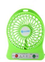 Smartpro Portable Mini Rechargeable Fan1 USB USB Fan (Green)