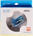 Zebronics ZEB-UA-100 USB Sound Card - Blue