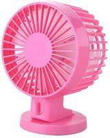 RoQ DB Double Blade USB USB Fan (Pink)