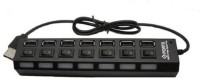 SDWA 7-port USB 2.0 Black Hub With High Speed Adapter On/off Switch For Laptop / Pc 7-port USB 2.0 Black Hub With High Speed Adapter On/off Switch For Laptop / Pc USB Hub (BLACK)