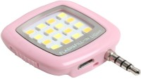 JOYROOM 16 LED Selfie Light Flash LED USB Led Light (Pink)
