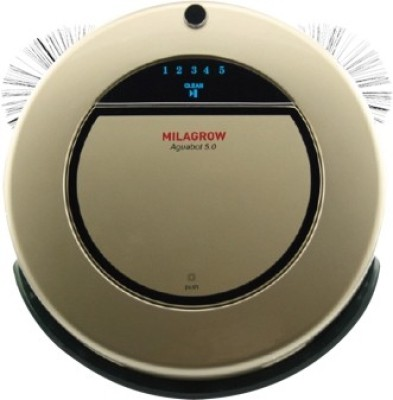 Milagrow AguaBot 5.0 Robotic Floor Cleaner (Champagne Gold)