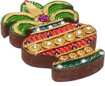 Aapno Rajasthan Vanity Boxes Aapno Rajasthan Kalesh Design Wood And Clay Jewellery Vanity Multi Purpose