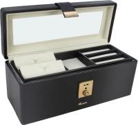 Richpiks Jewellery Accessories Box Locker Purpose Vanity Multi Purpose (Grey, Black)