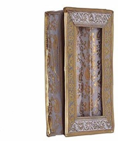 Kuber Industries 2 Rod Brocade Bangle box (9 cm x 17 cm x 28 cm) Make Up Vanity Jewellery
