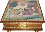R S Jewels Vanity Boxes R S Jewels Wooden Handmade Gemstone Painting Jewellery Vanity Multi Purpose