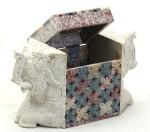 Aapno Rajasthan Vanity Boxes Aapno Rajasthan Elephant Shaped Box With Jaali Design Multiutility Vanity Multi Purpose