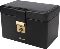 Richpiks Mini Jewellery Accessories Box Locker Purpose Vanity Multi Purpose (Grey, Black)
