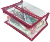 ADDYZ Pack Of 3 Cosmetic Travel Makeup Vanity Case (Maroon)