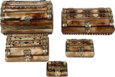 Bags Craze Vanity Boxes Bags Craze Style Diva Makeup and Jewellery Vanity Jewellery Box Set