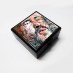 Merchbay Vanity Boxes Merchbay The Kissing Dwarf Accessory, Artist : Kriti Pahuja Jewellery, Make up Vanity Jewellery