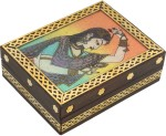 R S Jewels Vanity Boxes R S Jewels Indian Stone Painting Wooden Handicraft Jewellery Vanity Multi Purpose