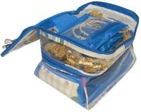 Addyz Cosmetic Jewelry Vanity Case (Blue)