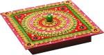 Aapno Rajasthan Vanity Boxes Aapno Rajasthan Hand Crafted Multipurpose Box With Clay And Wood Jewellery Vanity Multi Purpose