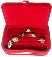 Addyz Ring Jewellery Vanity Case (Red)