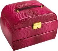 Anni Elegenza Jewellery Cum Makeup Vanity Box (Pink)