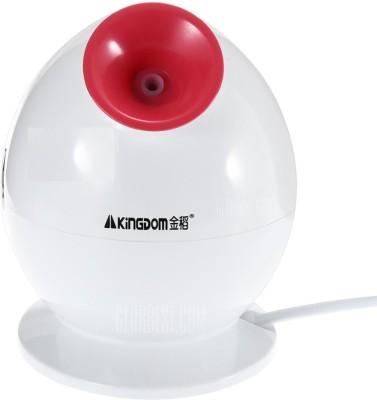 KINGDOM Facial Steamer Nano Ionic Herbal Natural Skin Sprayer Moisturizing Machine Vaporizer (White)