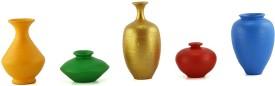 eKolhapuri Terracotta Vase