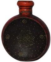 Hex Kakori Handcrafted Hex Shaped Pot Iron 13 Inch Vase