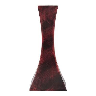 Recrafto-Cast-Iron-Maroon-Cast-Iron-Vase