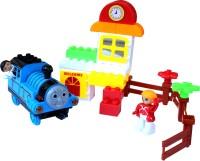 Scrazy Smart Thomas Train & Building Block Set (multi-color)
