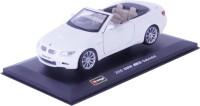 Bburago 2009 BMW M3 Cabriolet 1:32 Scale Diecast Metal Car (White)
